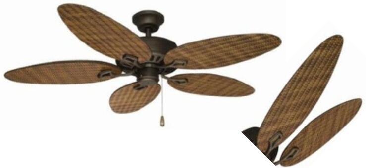 Belmont Indoor Outdoor Ceiling Fan 52 Inch