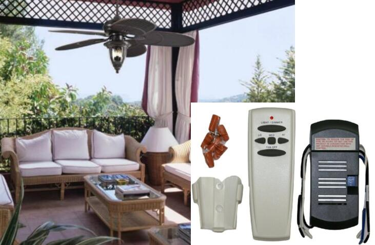 Flower Angel 18R ST6 Universal Ceiling Fan Remote Control Kit