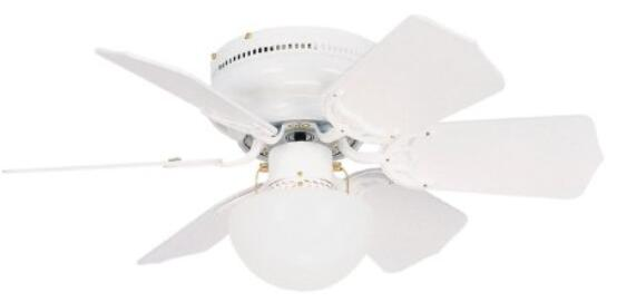 Litex BRC30WW6C Vortex 30-Inch Ceiling Fan