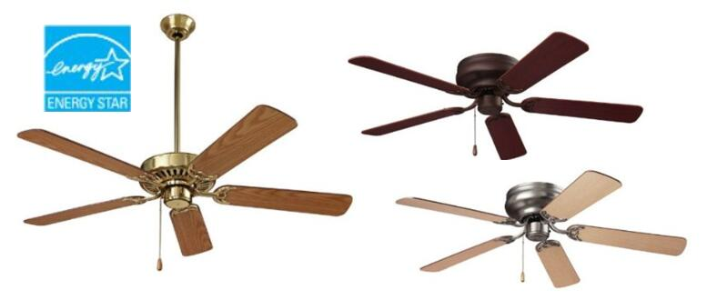NuTone CFH52RB Hugger Series Dual Blades Ceiling Fan, 52 Inch, Oil Rubbed  Bronze U2013 Under $110