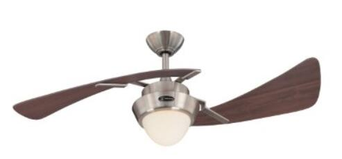 Westinghouse 7214100 Harmony Two-Light 48-Inch Two-Blade Indoor Ceiling Fans