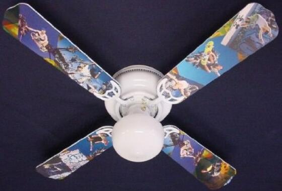 Ceiling Fan Designers Radical Skateboards Indoor Ceiling Fan