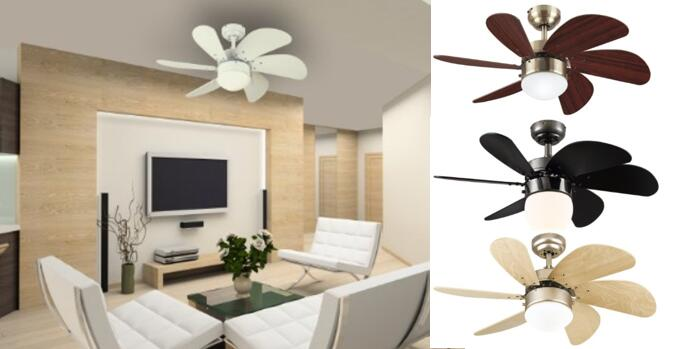 Westinghouse 7814520 Turbo Swirl Single-Light 30-Inch Six-Blade Indoor Ceiling Fan