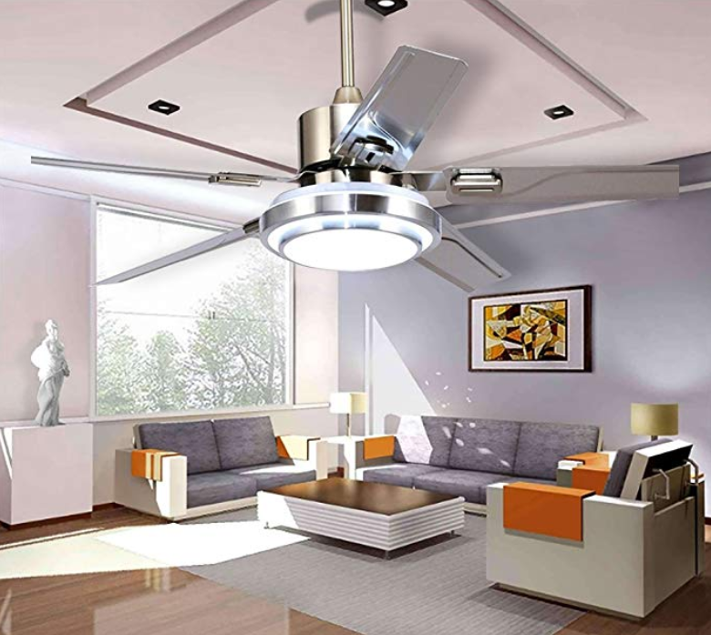 The 6 Best Ceiling Fan with Bright Light - Best Rated ...