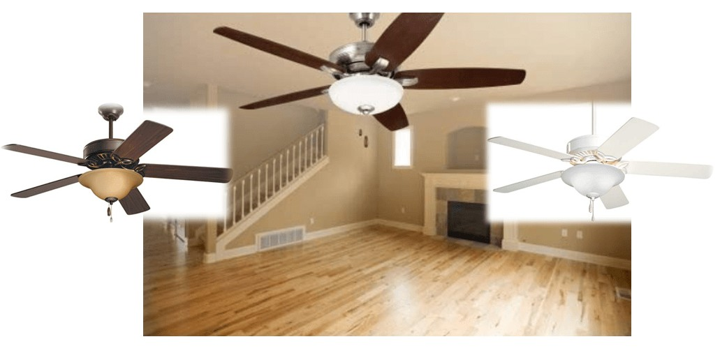 Best Energy Star - Emerson Dual Mount Ceiling Fan with Reversible Blades