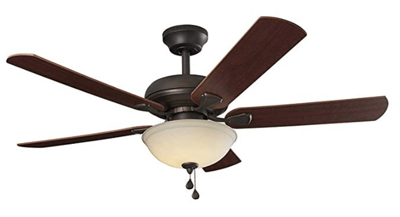 Best quiet ceiling fan with light review