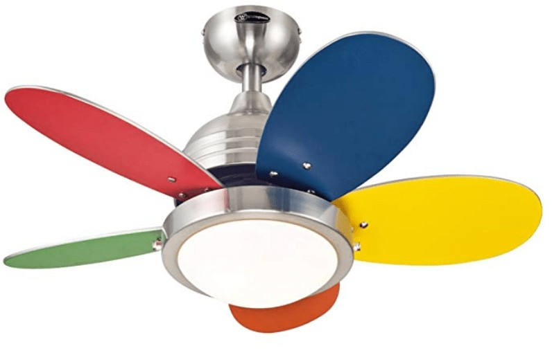 The Best Selling Westinghouse Roundabout Ceiling Fan For Kids Room