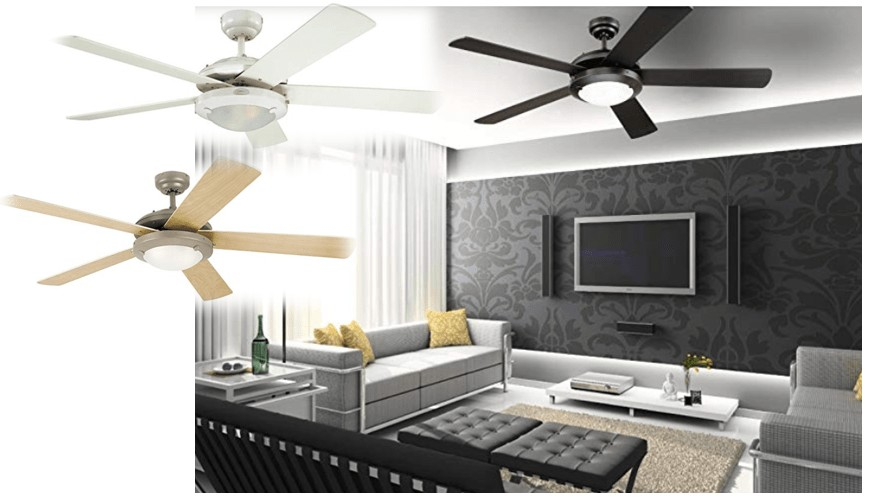Best for Large Room - Westinghouse Lighting 52-Inch Indoor Ceiling Fan