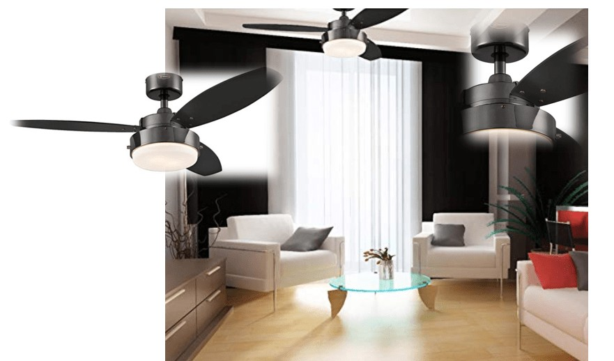 Best Price - Westinghouse Lighting 42-Inch Ceiling Fan with LED Light