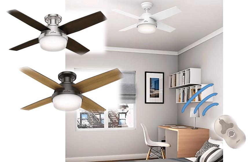 best low profile led ceiling fan