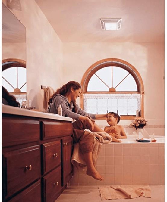 Best for Bathroom - Broan Ventilation Fan and Light Combination