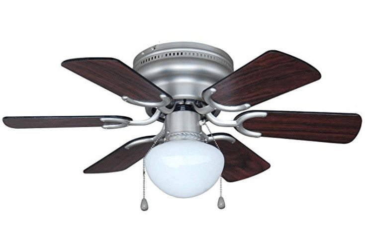Best Light Kit - Hardware House 30-inch Small Flush Mount Ceiling Fan with Light