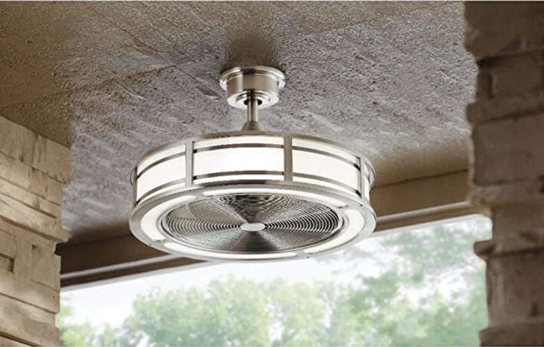 Best Caged LED Light - Home Decorators Indoor/Outdoor Ceiling Fan