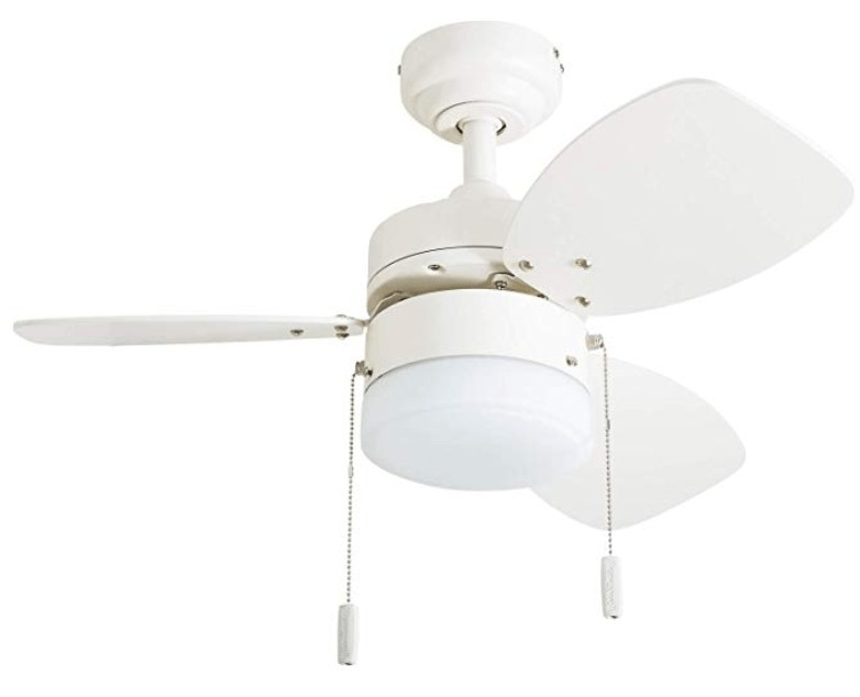 Best fot Kitchen - Honeywell 30-inch small white ceiling fan with light