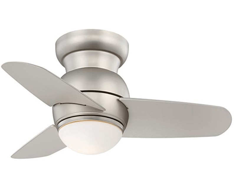 Best Modern Style - Minka-Aire 26-inch small ceiling fan with light