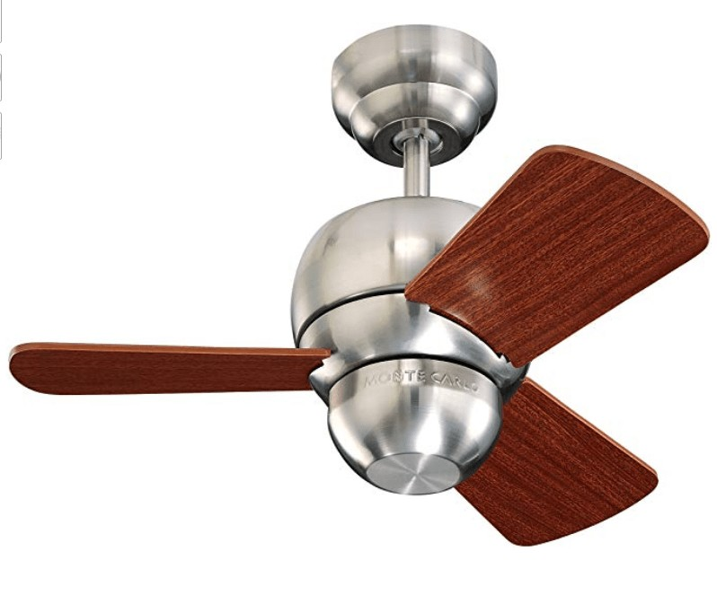 Best for Bathroom - Monte Carlo 24-inch Small Ceiling Fan for Bathroom