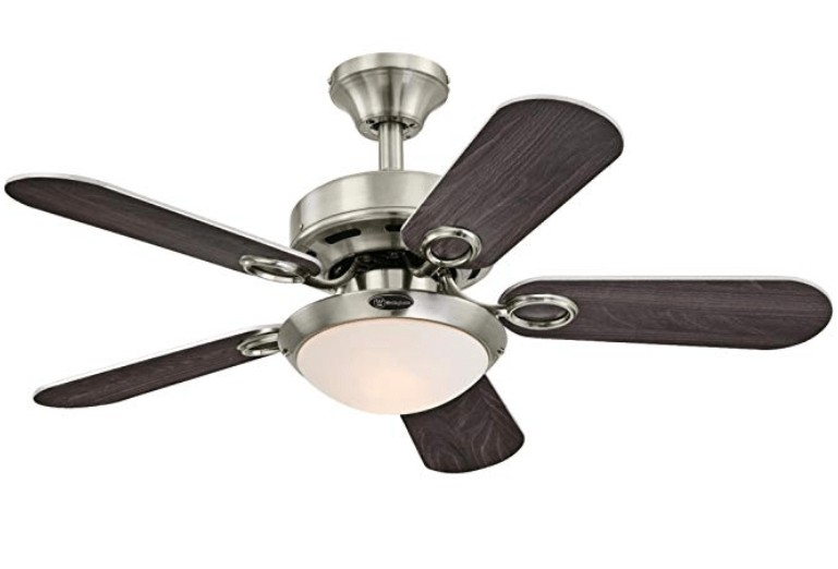 Westinghouse Lighting Five-Blade High-speed Small Ceiling Fan