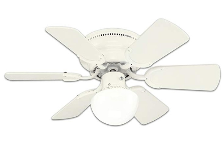 Best White Color - Westinghouse 30-inch Small Hugger Ceiling Fan with Light