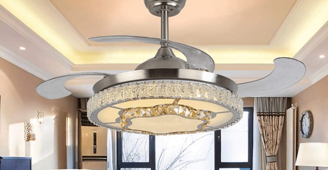 best looking retractable ceiling fans with lights