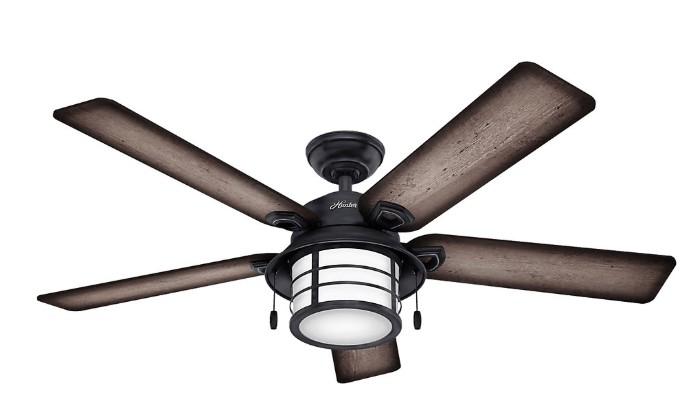 best bedroom ceiling fans with led lights