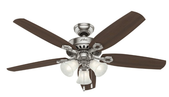 best hunter ceiling fan with lights for bedroom