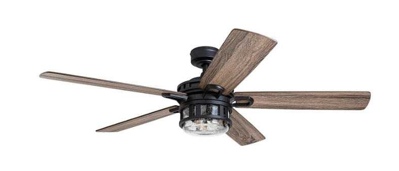 best black ceiling fan with lights for bedroom
