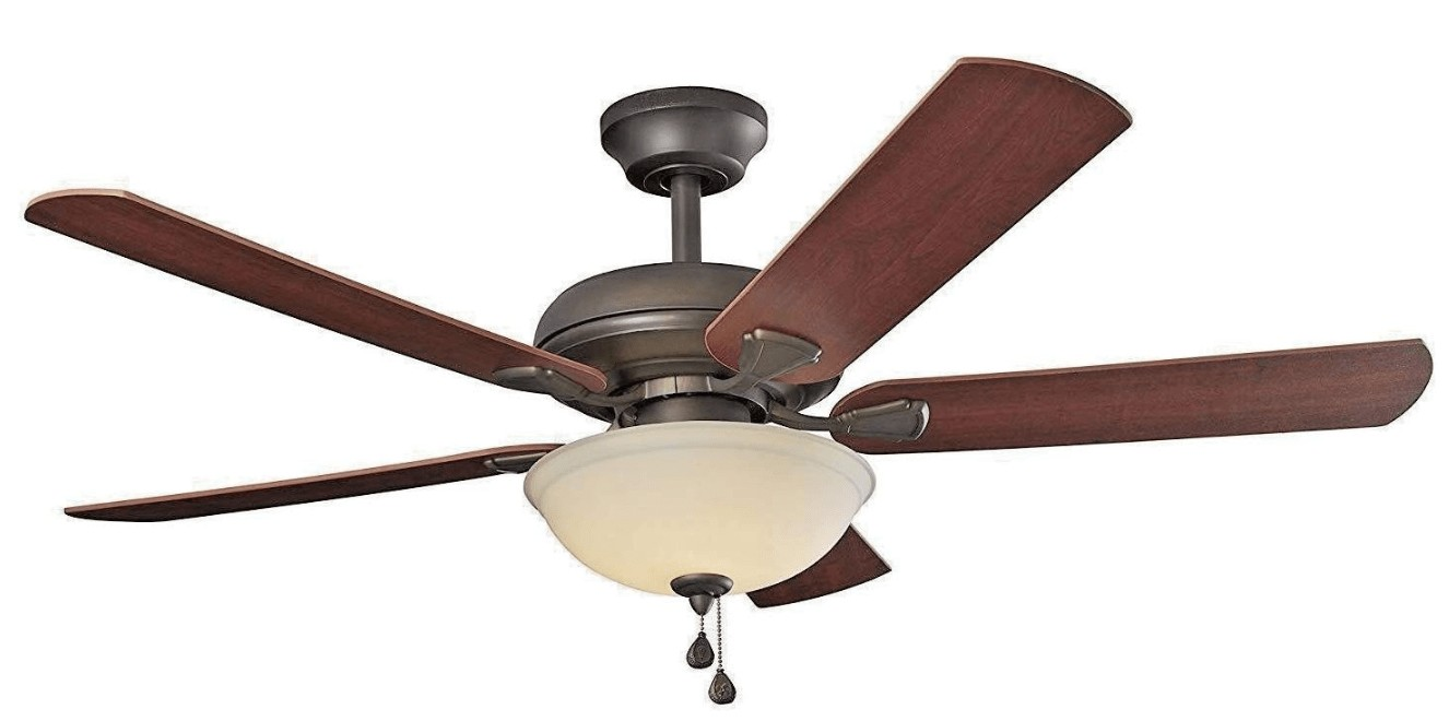 best energy efficient ceiling fan with light for bedroom