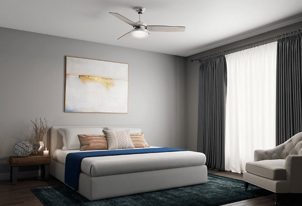 best hunter ceiling fans with lights and remote control