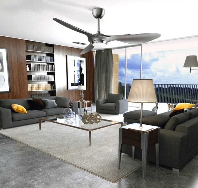 the types of 52 inch ceiling fan