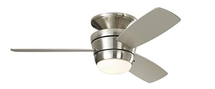 best quiet ceiling fan with light