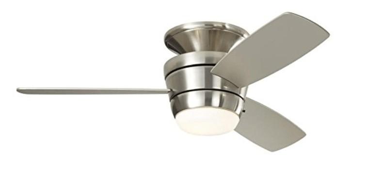 budget flush mounted ceiling fan