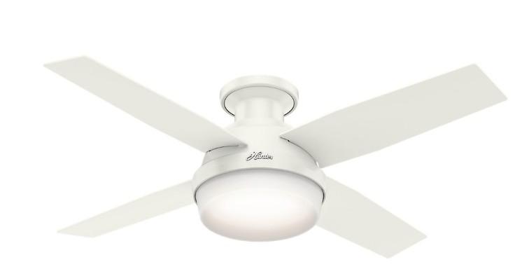 best hunter white ceiling fan
