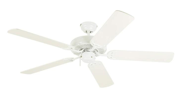 best white bedroom ceiling fan