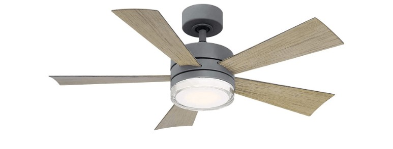 42 flush mount ceiling fan with light