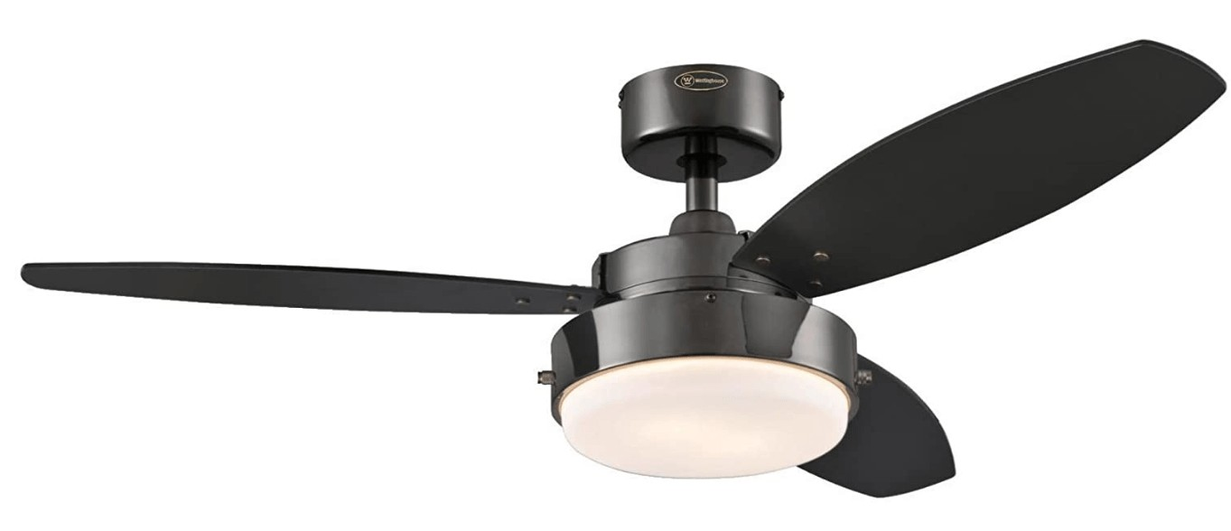 42 inch black ceiling fan