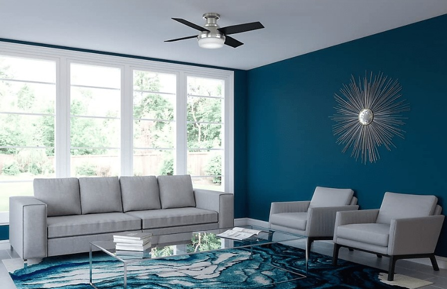 best 44 inch ceiling fan with light and remote