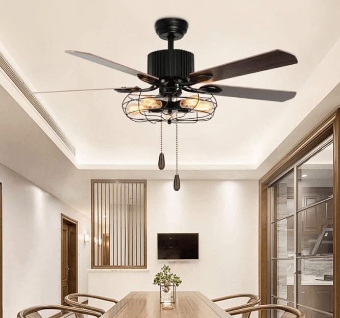 best black ceiling fan