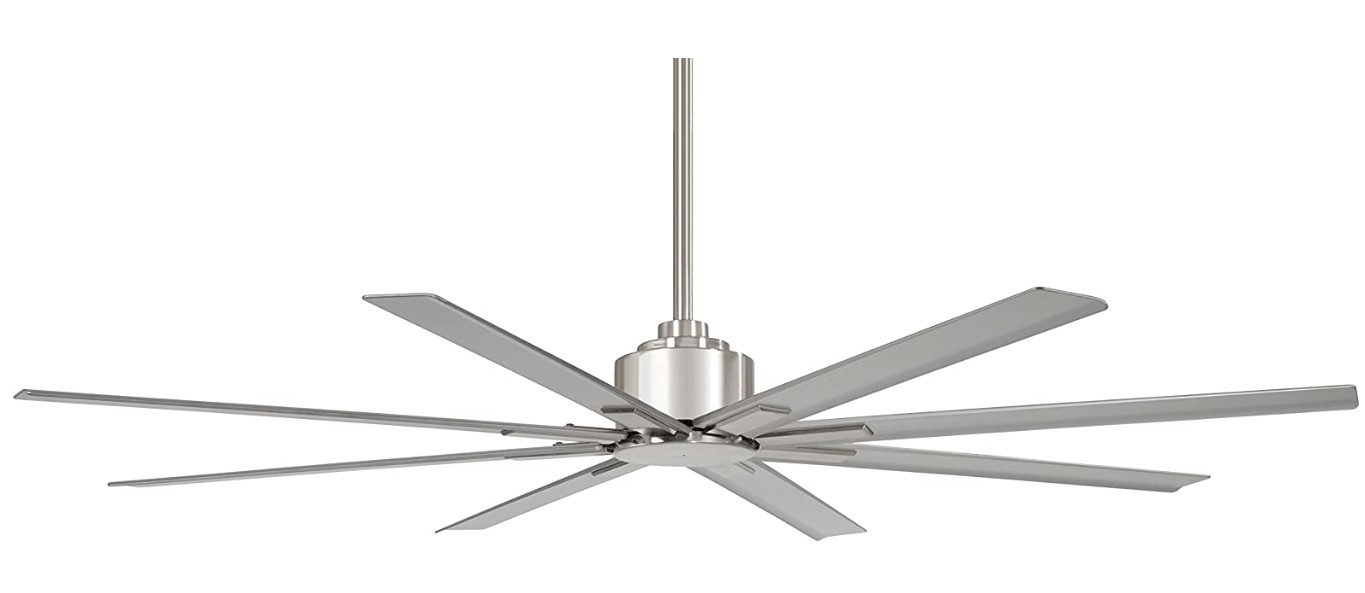 best ceiling fan air movement for large rooms
