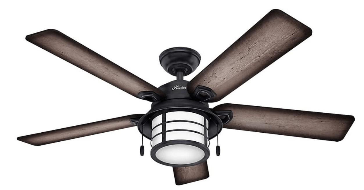 best hunter ceiling fan with lights