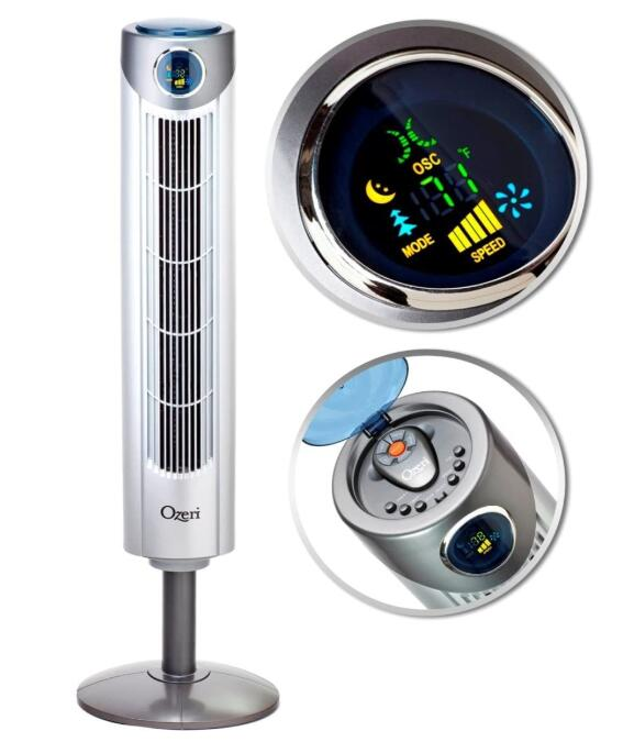 best quiet oscillating tower fan for living room