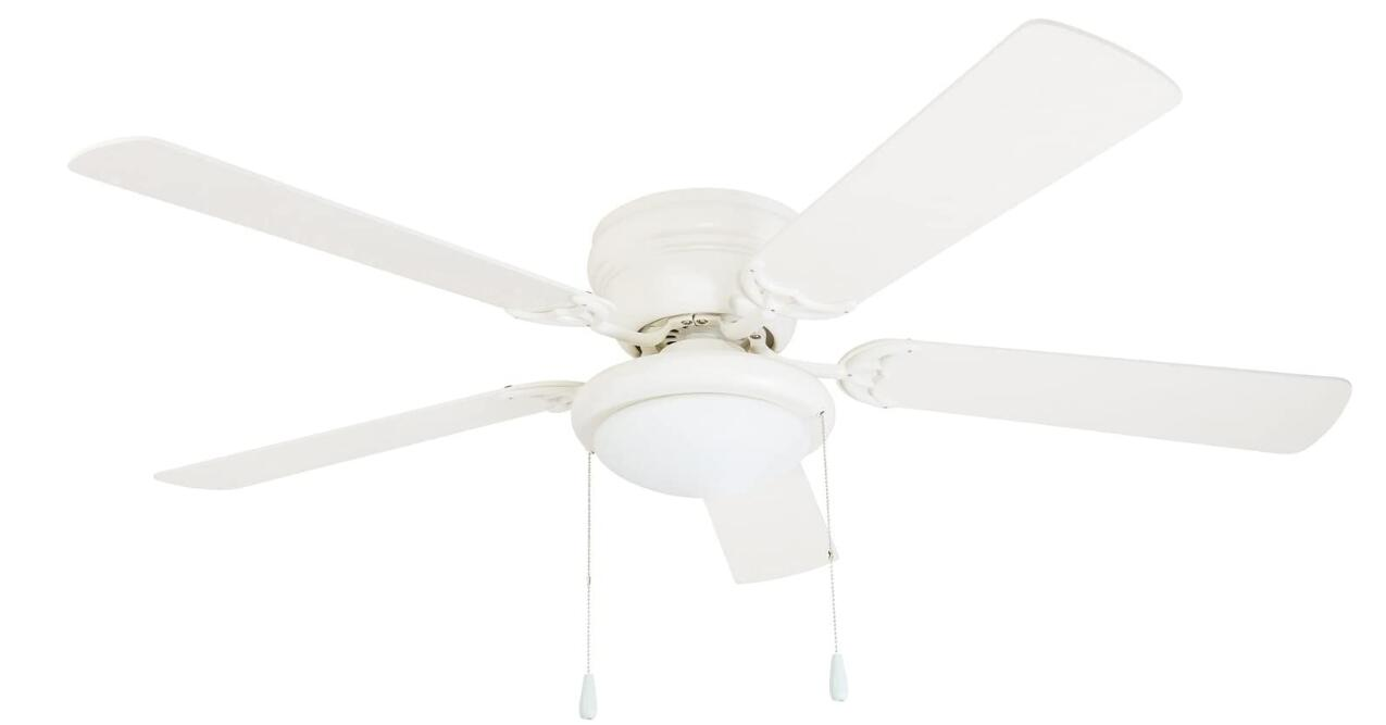 best white inexpensive ceiling fans