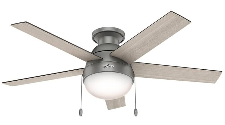 best low profile ceiling fan with remote