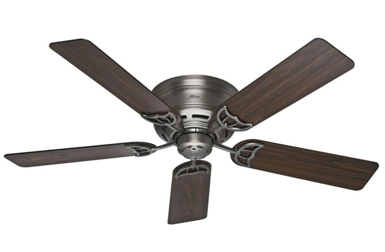 super low profile ceiling fan