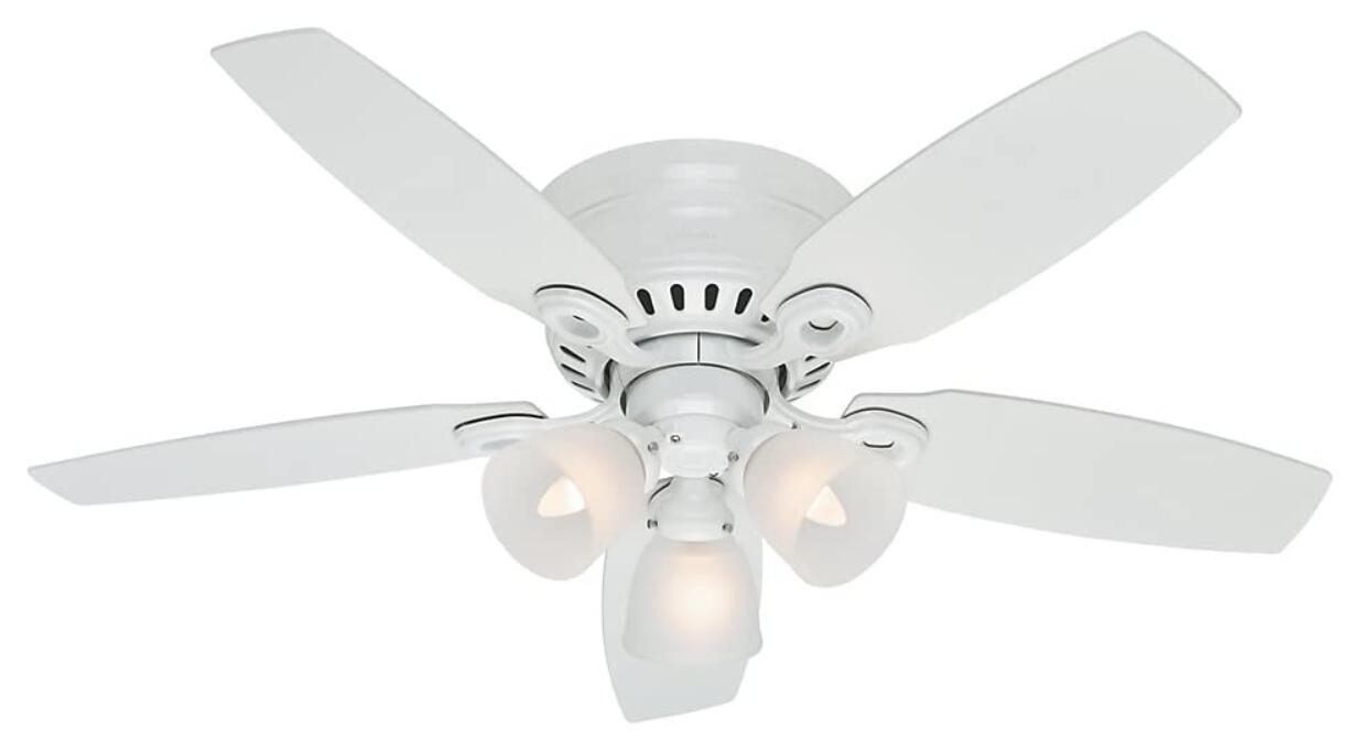 36 ceiling fan with light flush mount