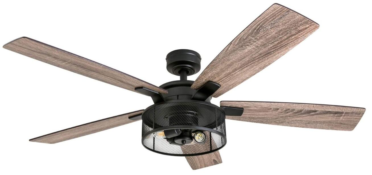 best 52 inch flush mount ceiling fan with light