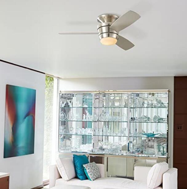 best flush mount ceiling fans with lights