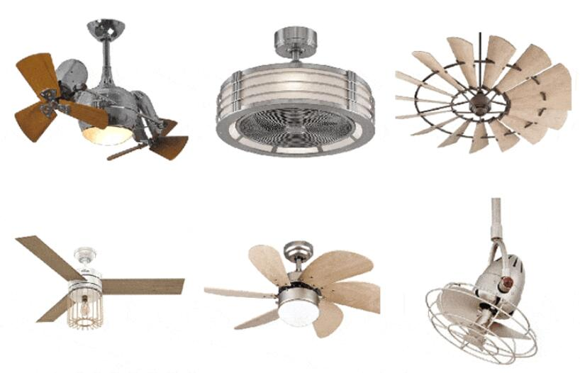 choosing a good looking ceiling fan