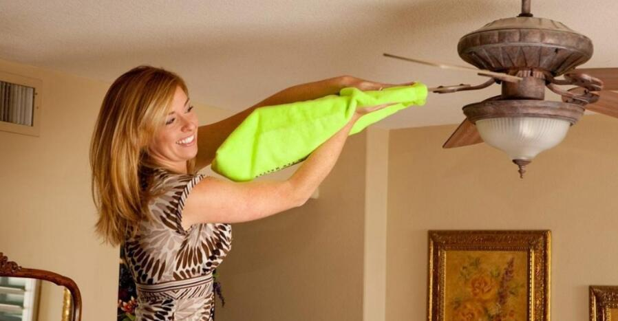 clean your ceiling fan