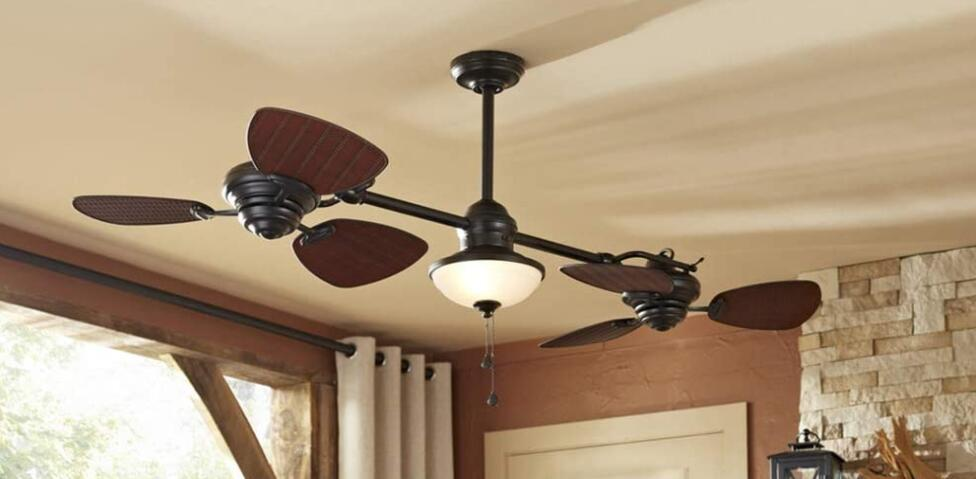best double blade ceiling fan