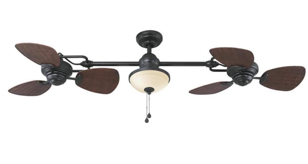 dual ceiling fans
